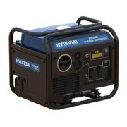 Hyundai HY3500Ei 3.3Kw Single Phase Electric Start Petrol Inverter Generator
